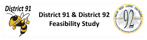 D91 and D92 feasibility study banner with logos